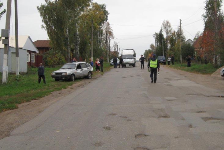 В Башкирии пьяный водитель сбил беременную женщину и её подругу. Фото
