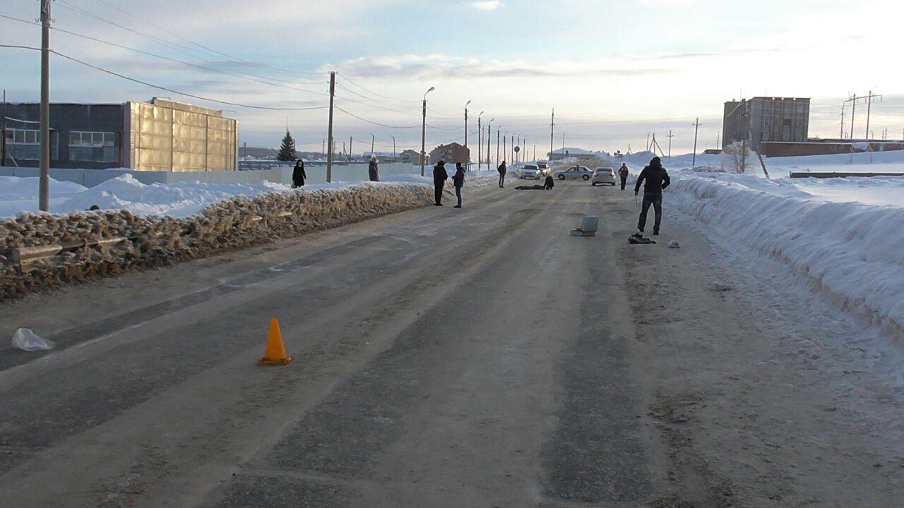 В Башкирии под колесами BMW погиб пенсионер